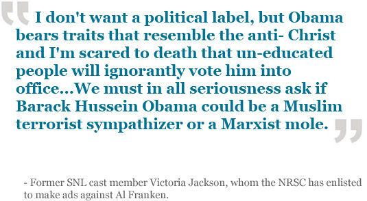 Victoria Jackson quote