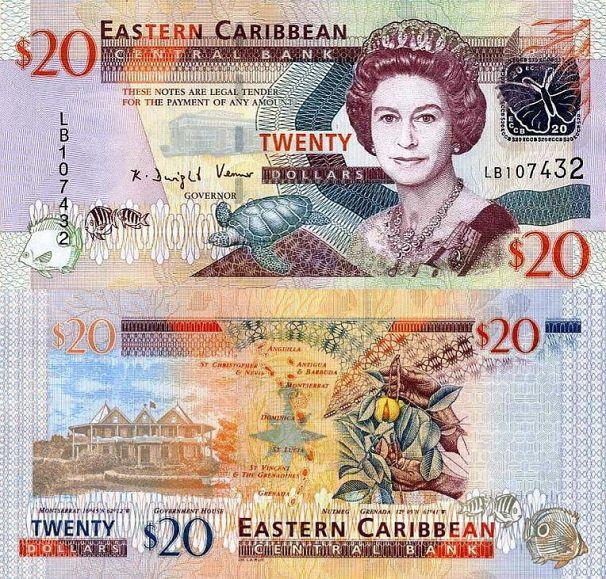East Caribbean, $20, 2008