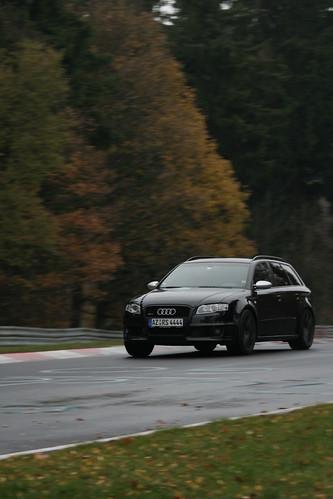 Audi RS4 Avant - Eiskurve Audi RS4