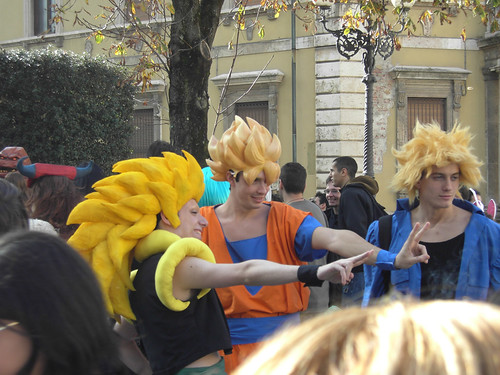 Dragon Ball Son Goku Foto Cosplay