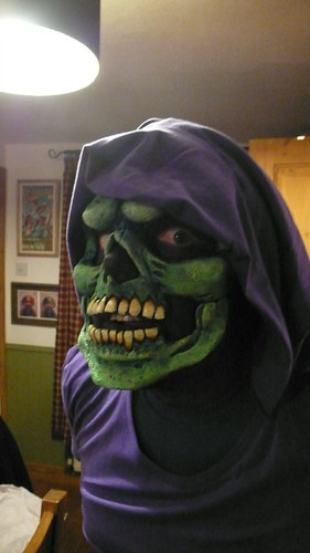 Gareth as Skeletor