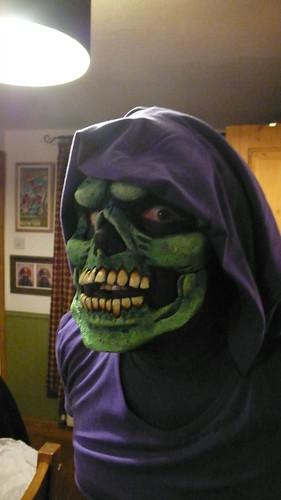 Gareth as Skeletor