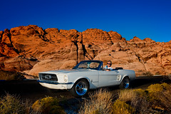 Mustang 67 (Elvez40) Tags: red rock canon nevada canyon 1967 5d mustang 67