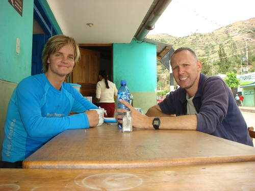 Me and Swiss Marc that I had a great time with in Cusco, Peru.