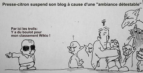 Trolls sur Presse-citron: picture Trolls sur Presse-citron by danielbroche