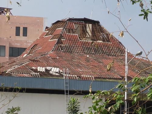 Abgedeckte Dächer
