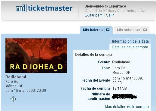 Radiohead en Mexico x 2