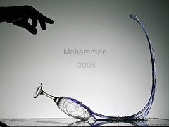 The Crash !! (Mohammad AlShuaib) Tags: water glass club speed studio photography eos al high media crash course explore freeze kuwait moment seen liquid jamal faisal on bisher xti canon400d alayoubi mohammad2008