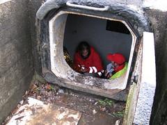 Slachtoffer in bunker