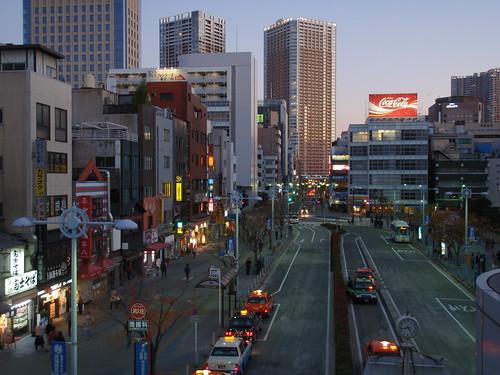 Tokyo al anochecer