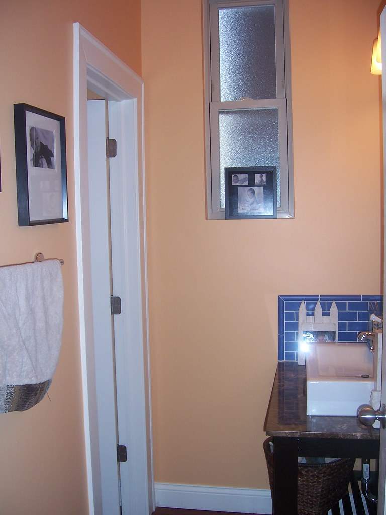 post spruce: powder room
