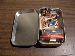 NT7S Code Practice Oscillator - Tin Open