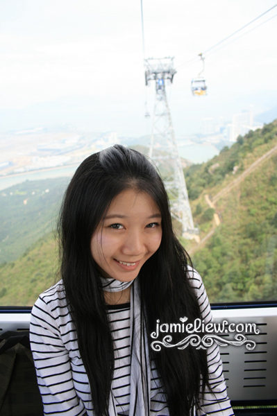 in the ngong ping cable car