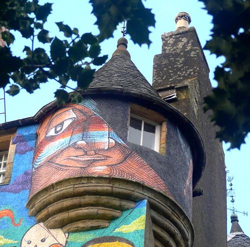 Kelburn Castle turret 05Dec08