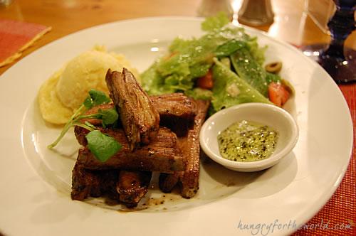 Mario's Baguio - Lamb Ribs at PhP 520.00