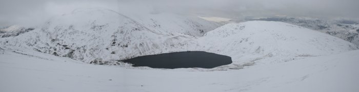 Grisdale Tarn From Dollywaggon Pike