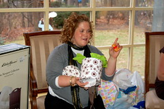 Opening Gifts (yorkd) Tags: family girls friends boy party food baby house cake mom fun cards shower born women infant remember birth mother son nh pregnant best clothes belly gifts presents wishes laugh clothesline celebrate decorate share babyshower 603 momtobe