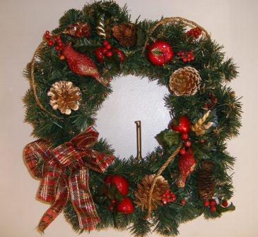 The Wreath on the Front Door