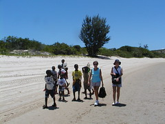 Mozambicans and visitors