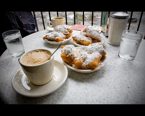 Coffee with Beignet´s @ Cafe Du Monde