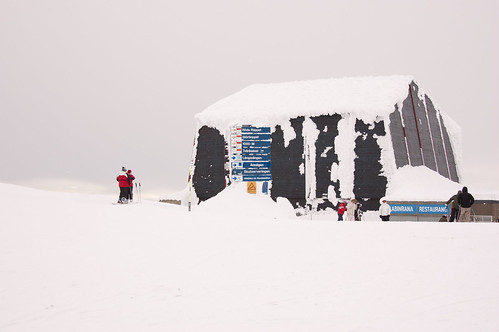 På toppen av Åreskutan