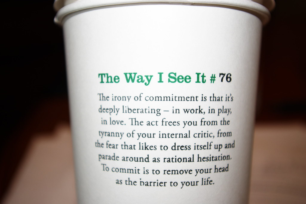 The World\'s Best Photos of quotes and starbucks - Flickr ...