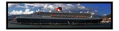 QUEEN MARY 2 (Asi75er) Tags: travel sea summer port photoshop canon boat ship bilbao queen elements panoramica zb bizkaia queenmary2 cunard euskadi basquecountry paisvasco crucero getxo trasatlantico canoneos400d