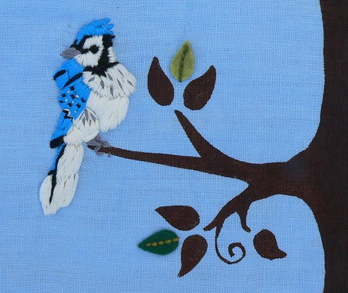 Fabric Growth Chart Blue Jay A Photo On Flickriver