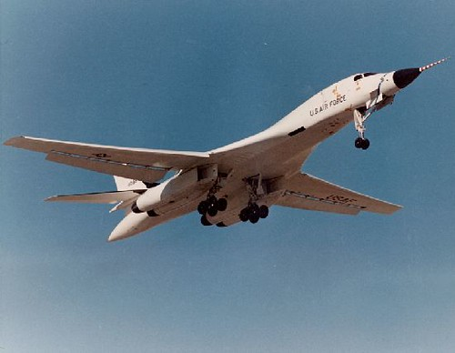 From flickr.com: Rockwell : B-1 : Lancer {MID-205410}