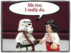 The Break-Up, frame 02 (kapgar) Tags: starwars lego stormtrooper lukeskywalker indianajones oola 2010 twilek storminnorman marionravenwood drluke ta2ine