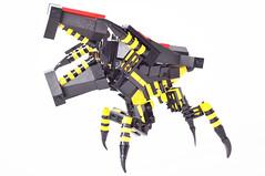 LegoStarshipTroopersWarriorBugSmall02 (madLEGOman) Tags: bug jack star ship lego troopers warrior starship mocs moc mckeen madlegoman warriorbug