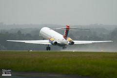 OY-JRU - 49403 - Danish Air Transport - McDonnell Douglas MD-87 - Luton - 100825 - Steven Gray - IMG_2333
