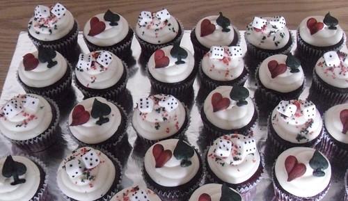 Casino Theme Cupcakes