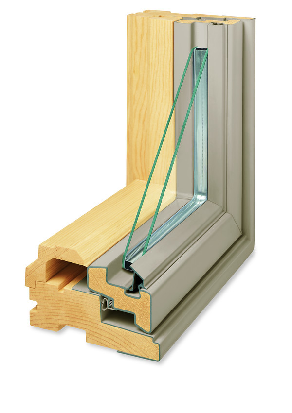 400 Series Replacement Casement and Awning Window corner section cutaway