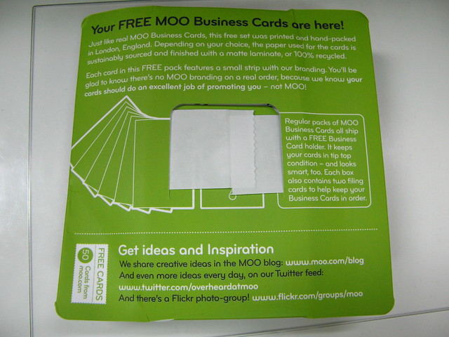 about.me moo business card