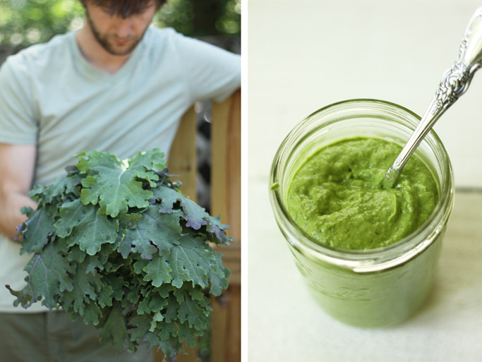 Raw Kale and Avocado Sauce