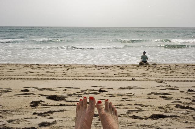 Palm Beach toes