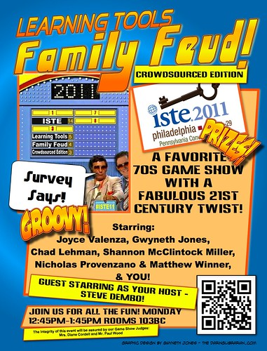 ISTE11 Family Feud Poster