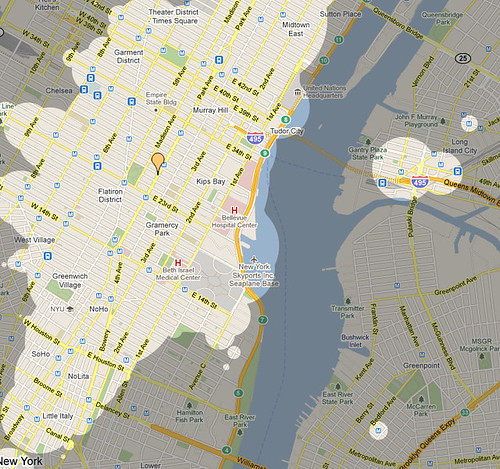 Mapnificent New York - Dynamic Public Transport Travel Time Maps for New York - Mozilla Firefox 05062011 15344 PM