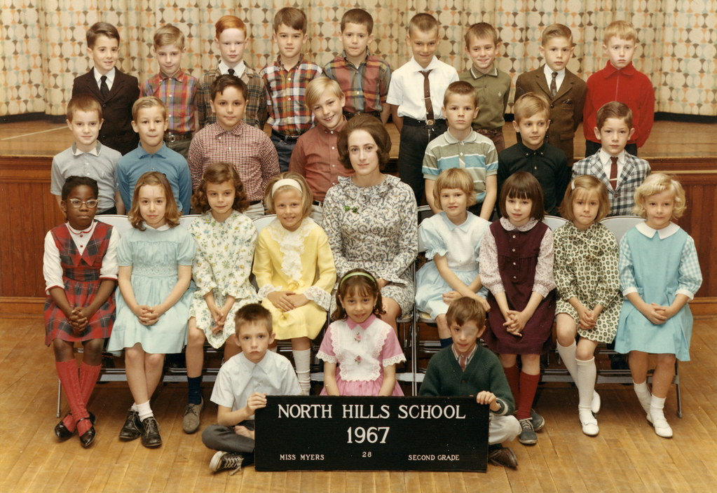 My 2nd Grade Class, North Hills Elementary School, May 1967