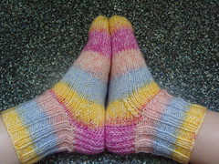 Rainbow Socks For Mom