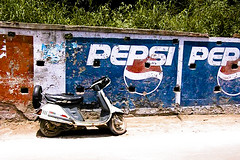 Pepsi scooter