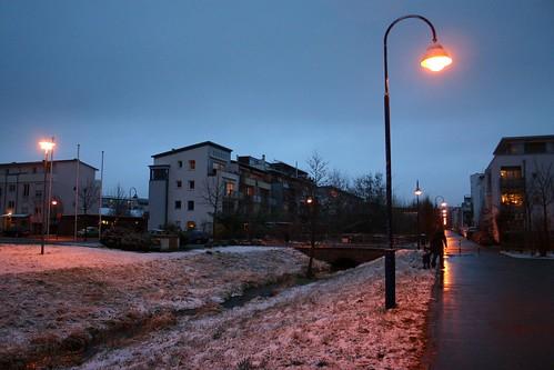 Evening street II
