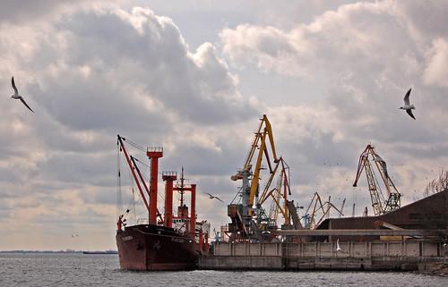 Kherson seaport