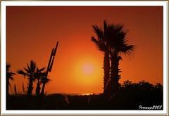 amanecer en la playa de Gavà - sunrise in Gavà Beach
