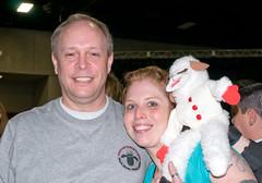 Me, Hannah Barbaric, and Lamb Chop