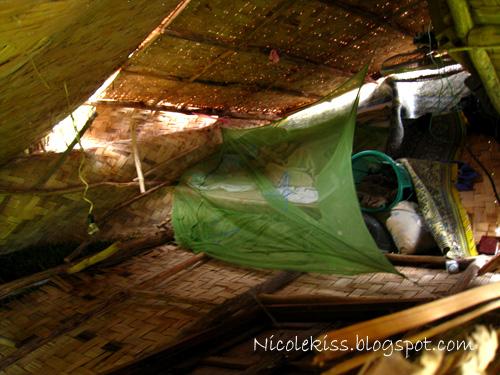 interior of corrupted hut