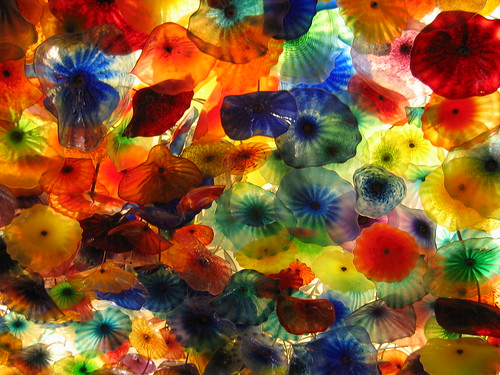 Glass ceiling at Bellagio