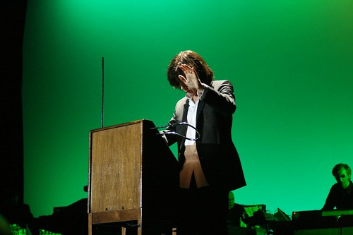 Jean Michel Jarre and his instrument | Flickr - Photo Sharing!