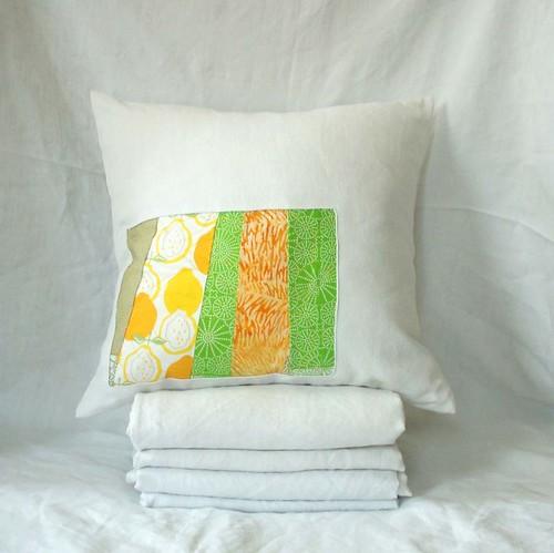 citron vert pillow